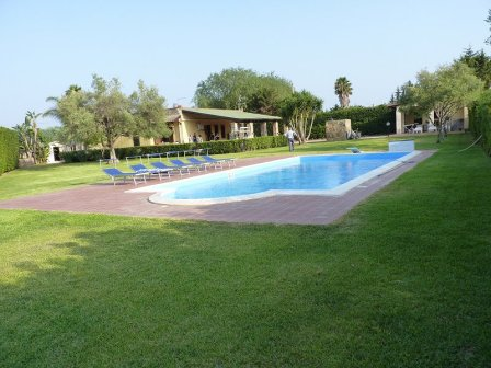 parcel land with swimming pool